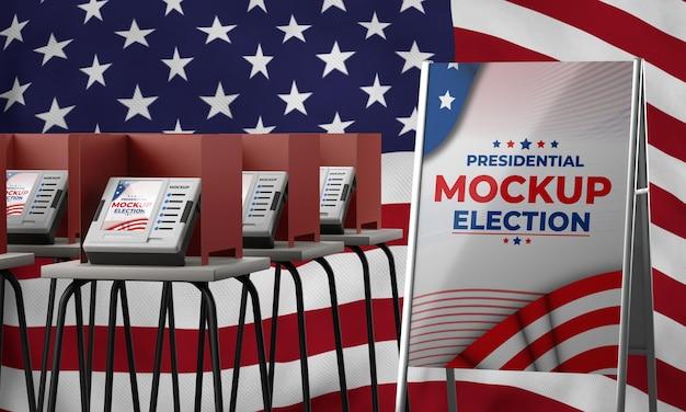 Макет концепции выборов в сша