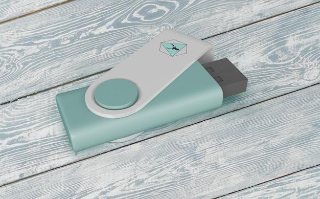 Usb флешка макет для мерчендайзинга