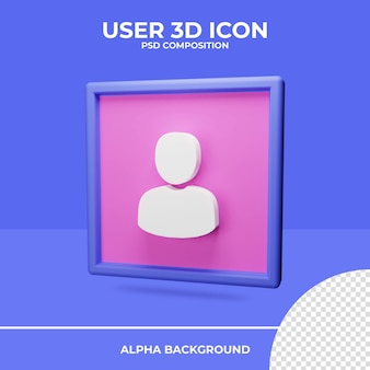 Пользовательский рендеринг значков 3d