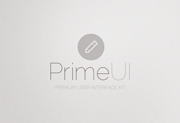 User interface kit psd material