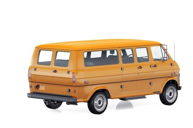 Utility van 1971 mockup