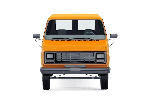 Коммунальный фургон 1986 года, макет