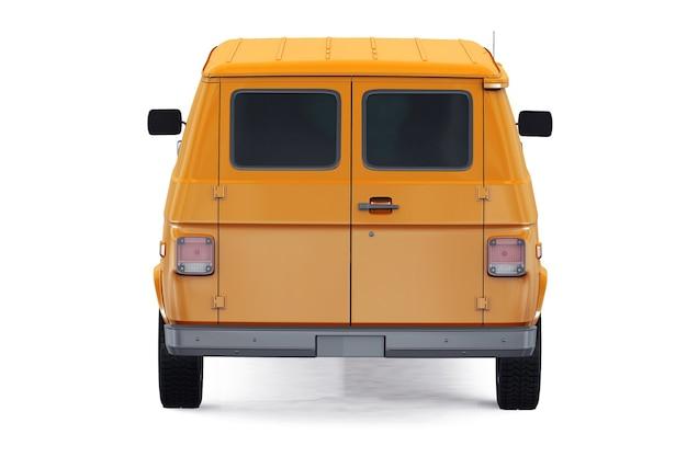 Коммунальный фургон 1992 года, макет