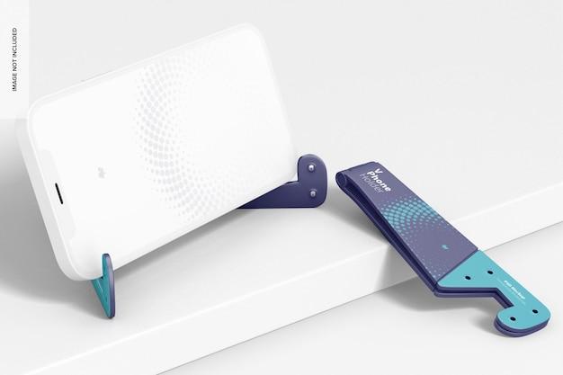 Мокап держателей для телефонов v