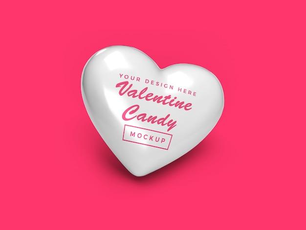 발렌타인 하트 사탕 이랑 디자인 절연