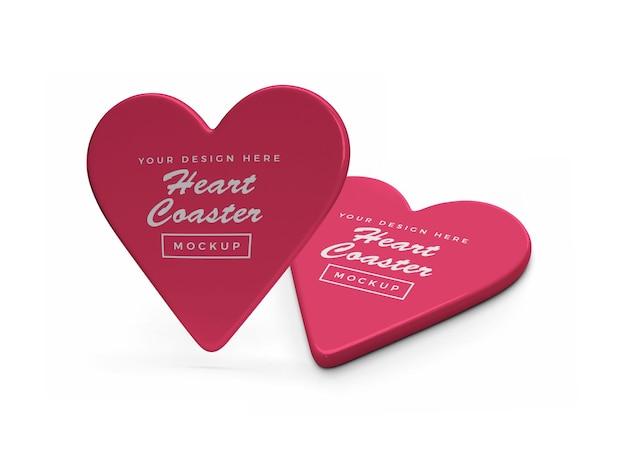 Дизайн мокапа каботажное судно валентина сердце