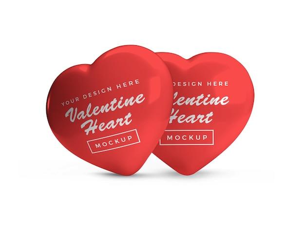 발렌타인 하트 심볼 이랑 디자인