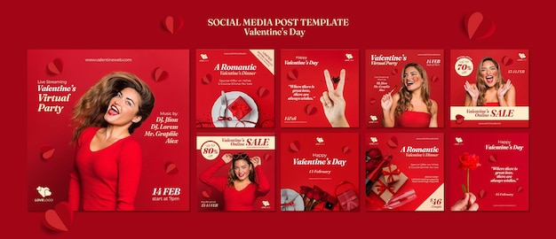 Valentine's day instagram posts