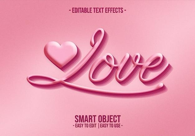 Valentine-text-style-effect