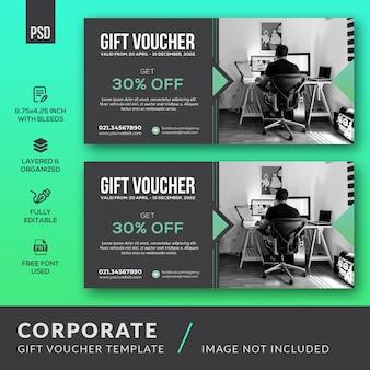 Various corporate gift voucher