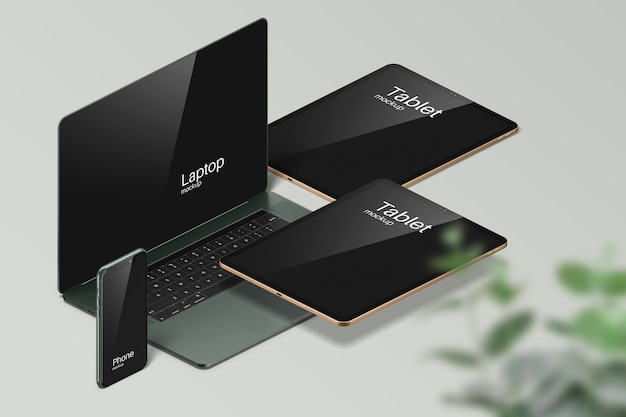 Various digital and modern mockups