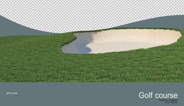 Various golf courses