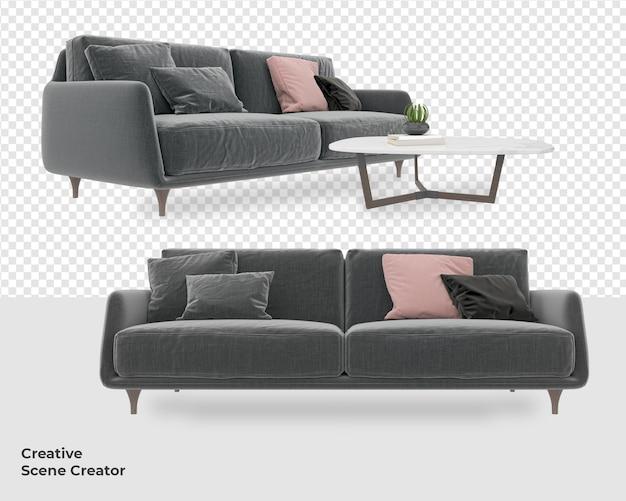 Различный диван, кресло, украшение, мебель, макет