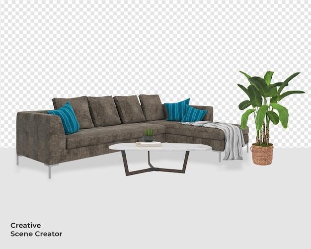 Различный дизайн украшения гостиной дивана