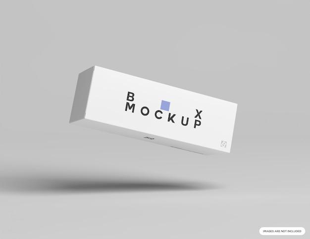 Вертикальный макет коробки