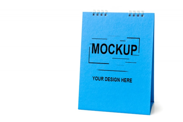 Вертикальный календарь макет