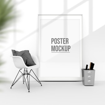 Vertical poster mockup designs