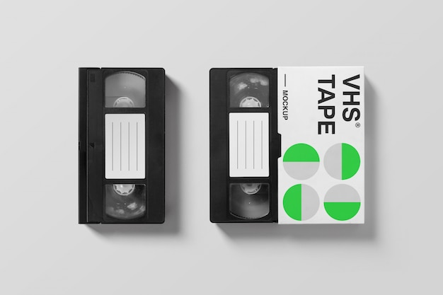 Vhs mockup collection