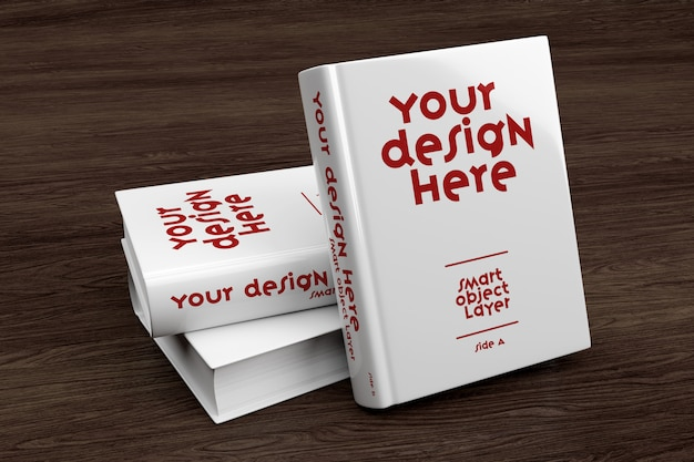 View of a book cover mockup