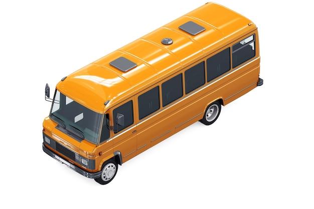 Винтажный автобус 1979 года, макет