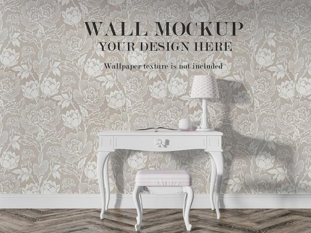 Винтажная интерьерная стена для ваших дизайнерских идей