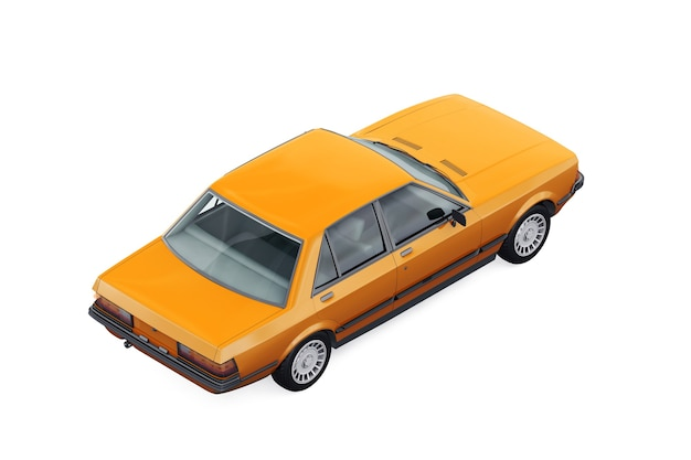 Auto berlina d'epoca 1982