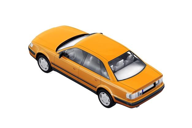 Auto berlina d'epoca 1991