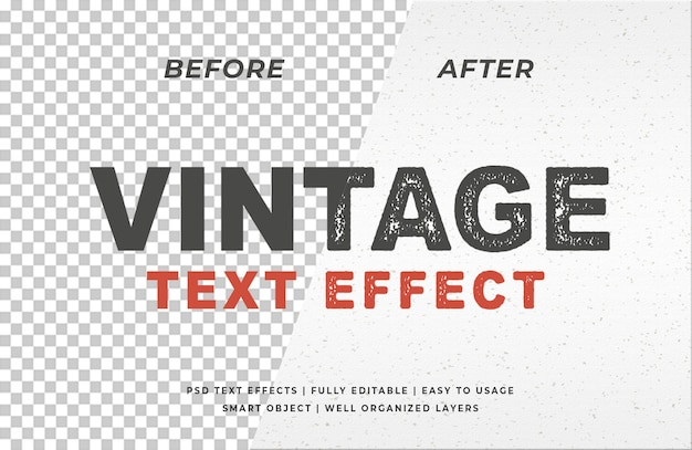 Урожай печать типографский эффект текста