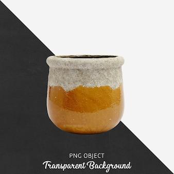 ヴィンテージ花瓶または透明の植木鉢