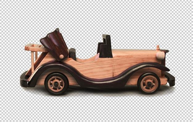 Vintage wooden car toy