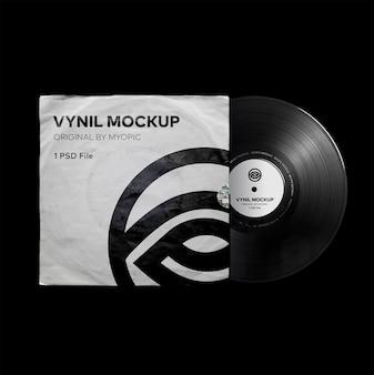 Vinyl mockup