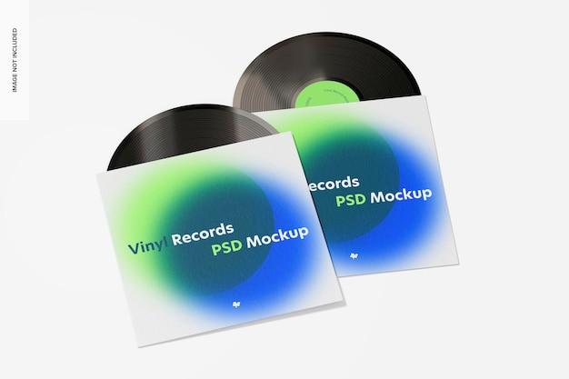 비닐 레코드 모형