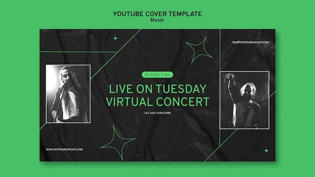 Virtual concert youtube cover