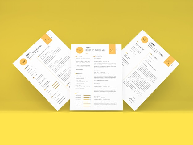 Реалистичная учебная программа с размерами букв vitae