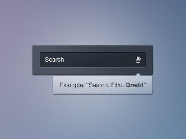 Интерфейс голосового поиска