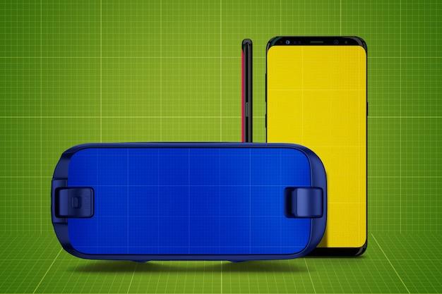 Vr &mobile mockup