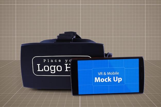 Vr & mobile mockup