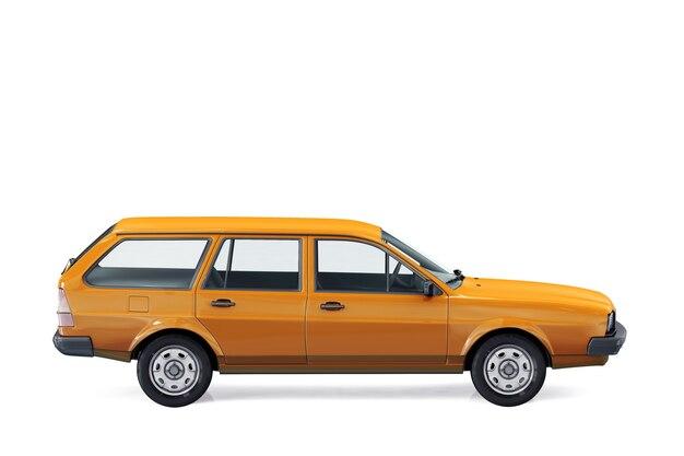 ワゴンコンビカー1980モックアップ