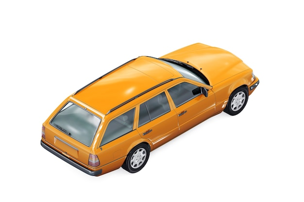 ワゴンコンビカー1993モックアップ