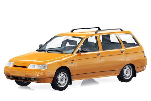 Вагон комбинированный автомобиль 1995 года макет