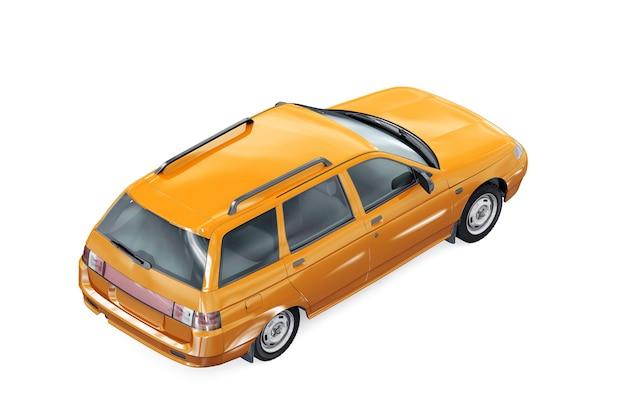 Wagon combi car 1995 mockup