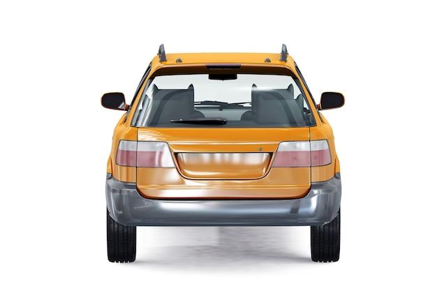 Mockup di auto combi wagon 1996