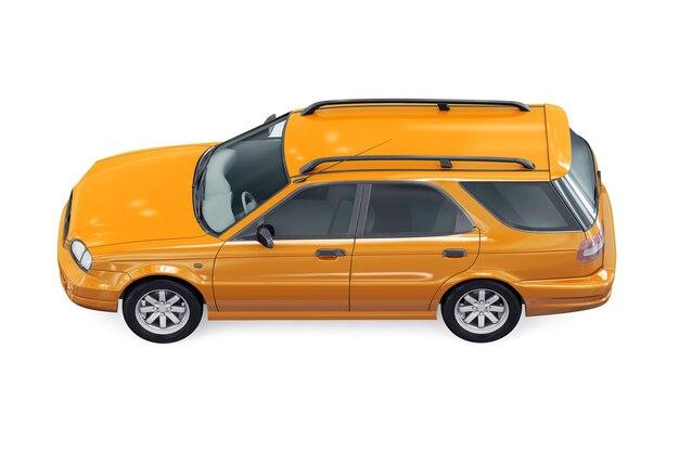 Wagon combi car 1999 mockup