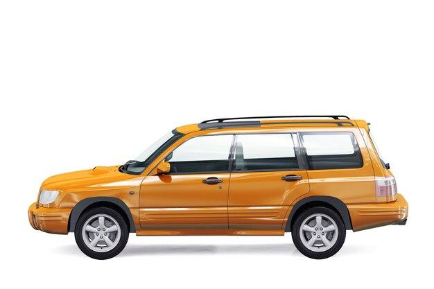Вагон комбинированный автомобиль 2000 макет