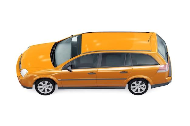 Wagon combi car 2002 mockup