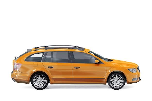Mockup di auto combi wagon 2011