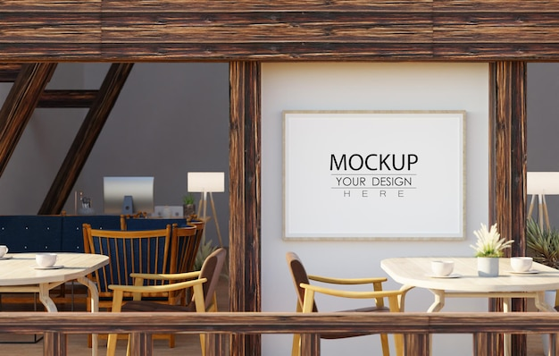 Free Psd Canvas Mockup Wall Art In, Dining Room Wall Decor Canvas