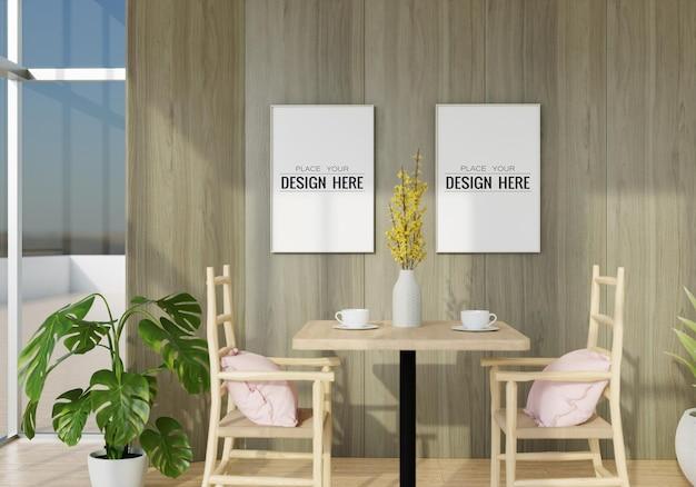 거실의 벽 예술 모형, 캔버스 또는 액자