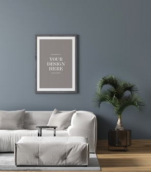 Wall frame in home decoration in home decoration