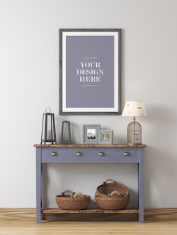 Настенная рамка в декоре дома в декоре дома